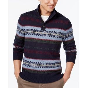 Mens Tommy Hilfiger Sweater Blue NWT